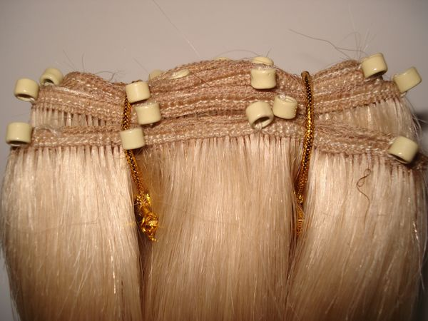Extensions Human Hair Clip In 17