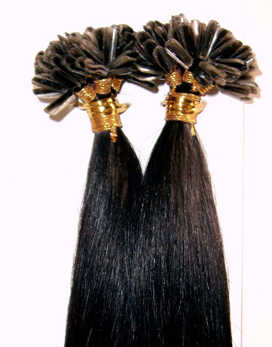 U Tip Pre Bonded Hair Extension Hair Extensions 100 Natural Human