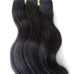 Wefted Hair Extension For African Market