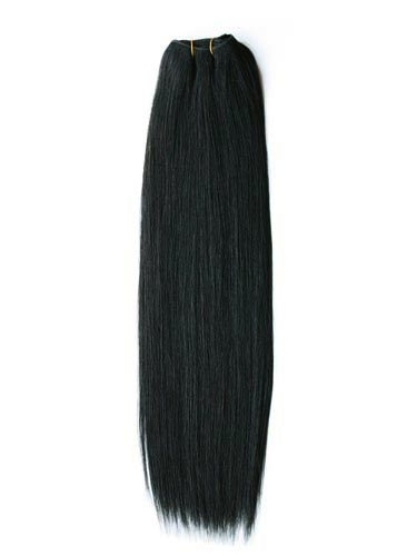 wefted hair extensions tresses