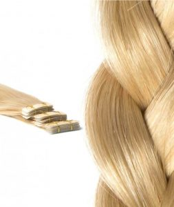 tape in extension blond